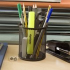 Basic desk organizer cup