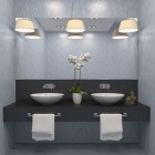 Double Bowl Sink Bathroom Vanity