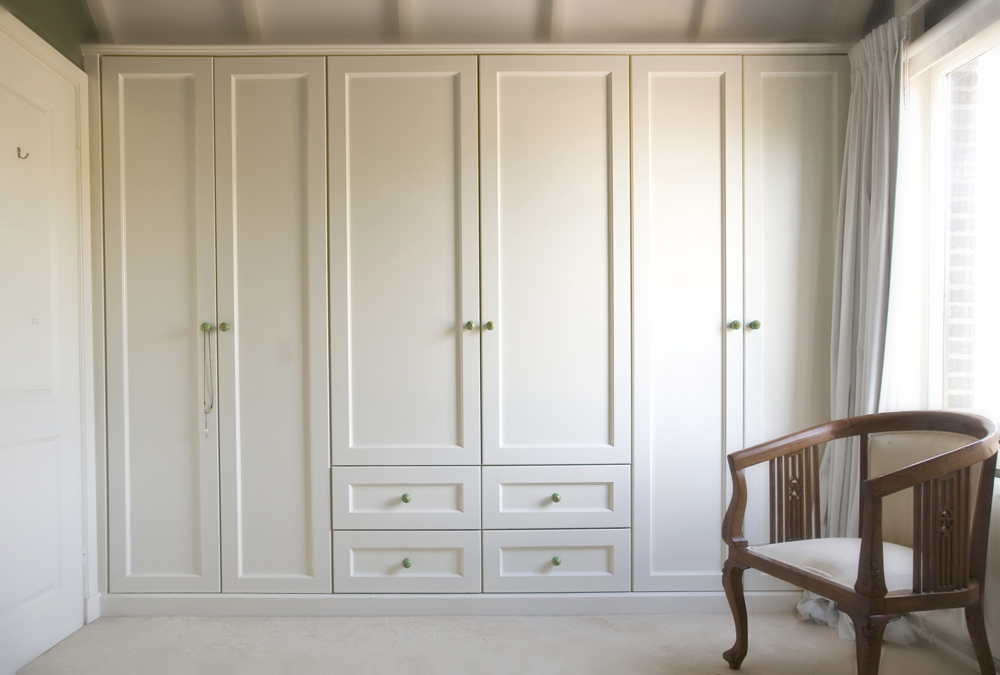 Dressers cabinets armoirs brisk living for Bedroom built in wardrobe designs