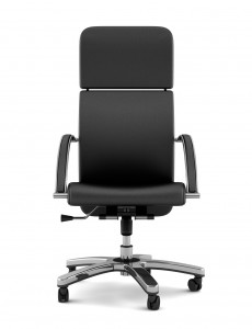 Black modern office chair