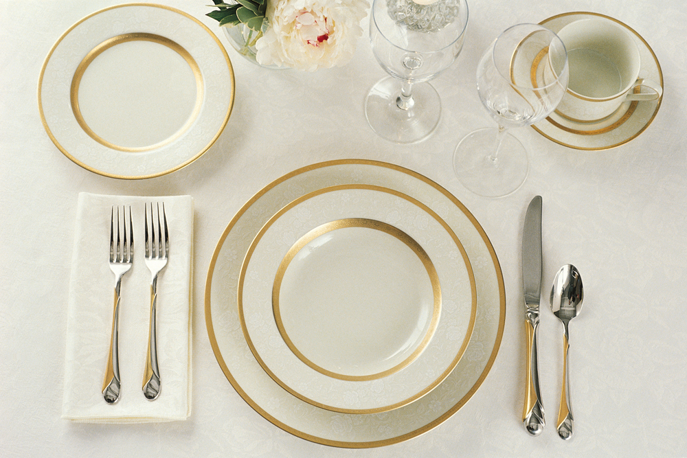 Dish and dinnerware brisk living for Table place setting