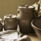 Vintage Ceramic Canisters and Bowl