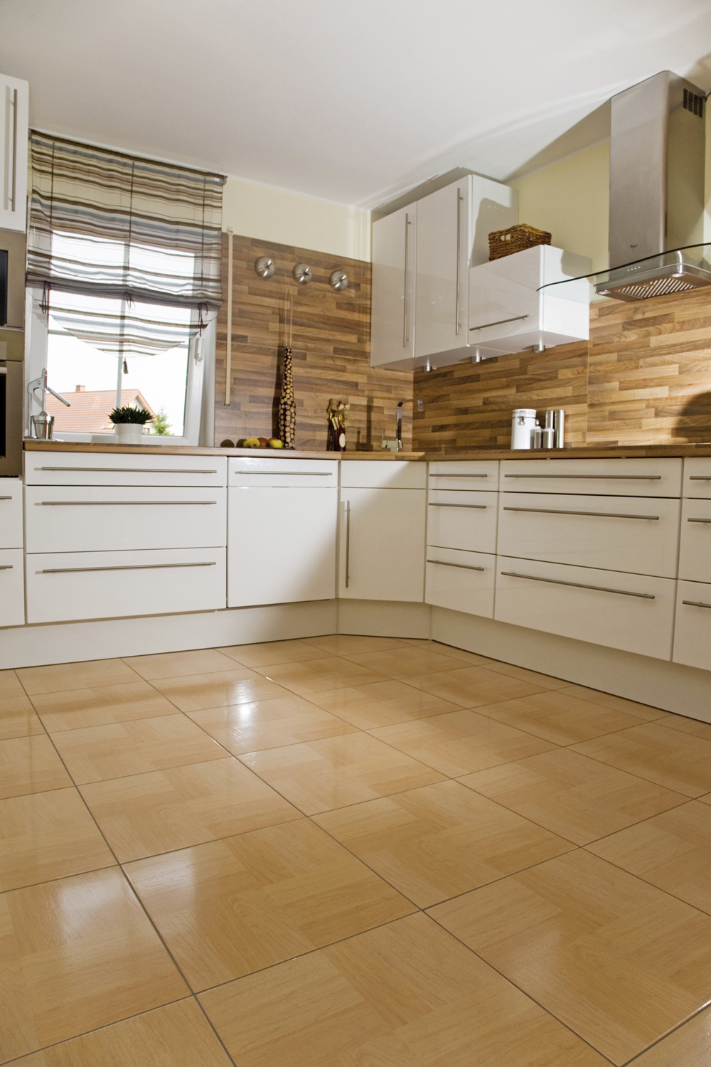 Modern Kitchen Flooring Flooring Brisk Living