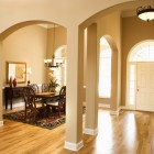Dining room and entrance to home