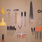 Tools in garage