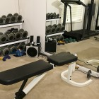 Simple home workout room