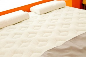 Mattress with Deep Quilt Pattern