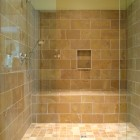 Stone & Glass Shower